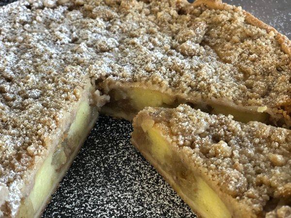 Apfel-Vanille Kuchen