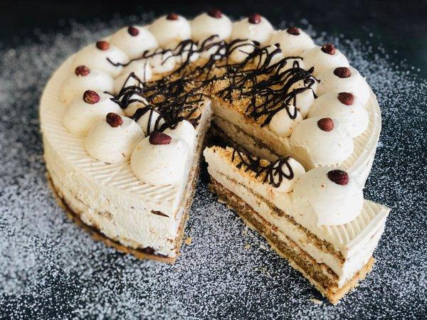 Nusssahne Torte